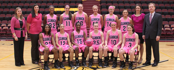 Lady Knights Recognized for Pink Zone