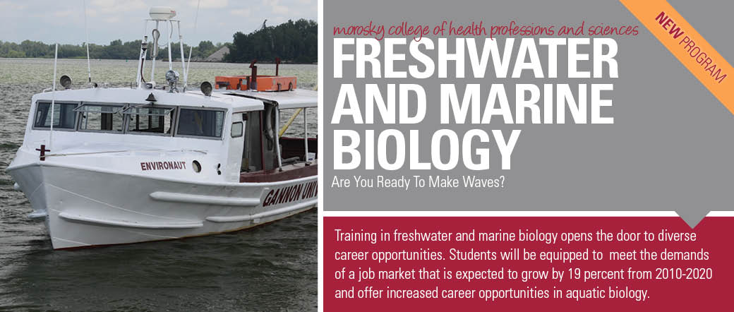 Freshwater and Marine Biology