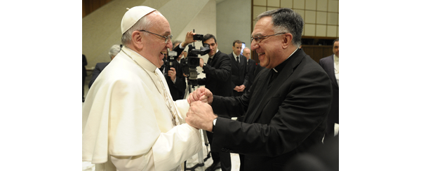 Fr. Rosica and Pope Francis