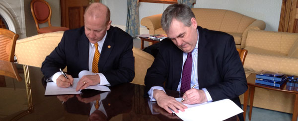 Gannon Signs Agreement with Ireland and Germany